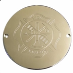 Firefighter Maltese Cross Polished