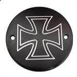 Maltese Cross Black
